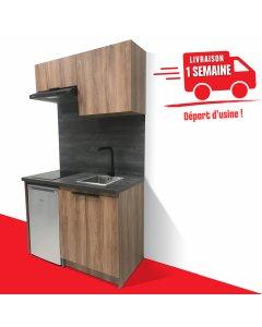 KITCHENETTE COULEUR 120CM pour réfrigérateur 48cm