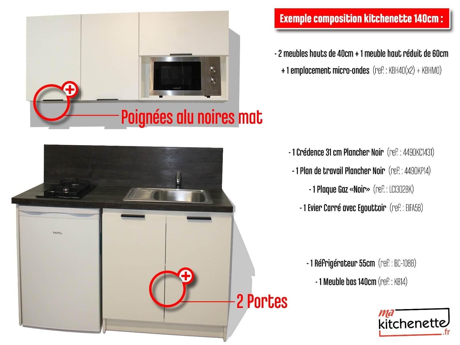 Kitchenette 140cm