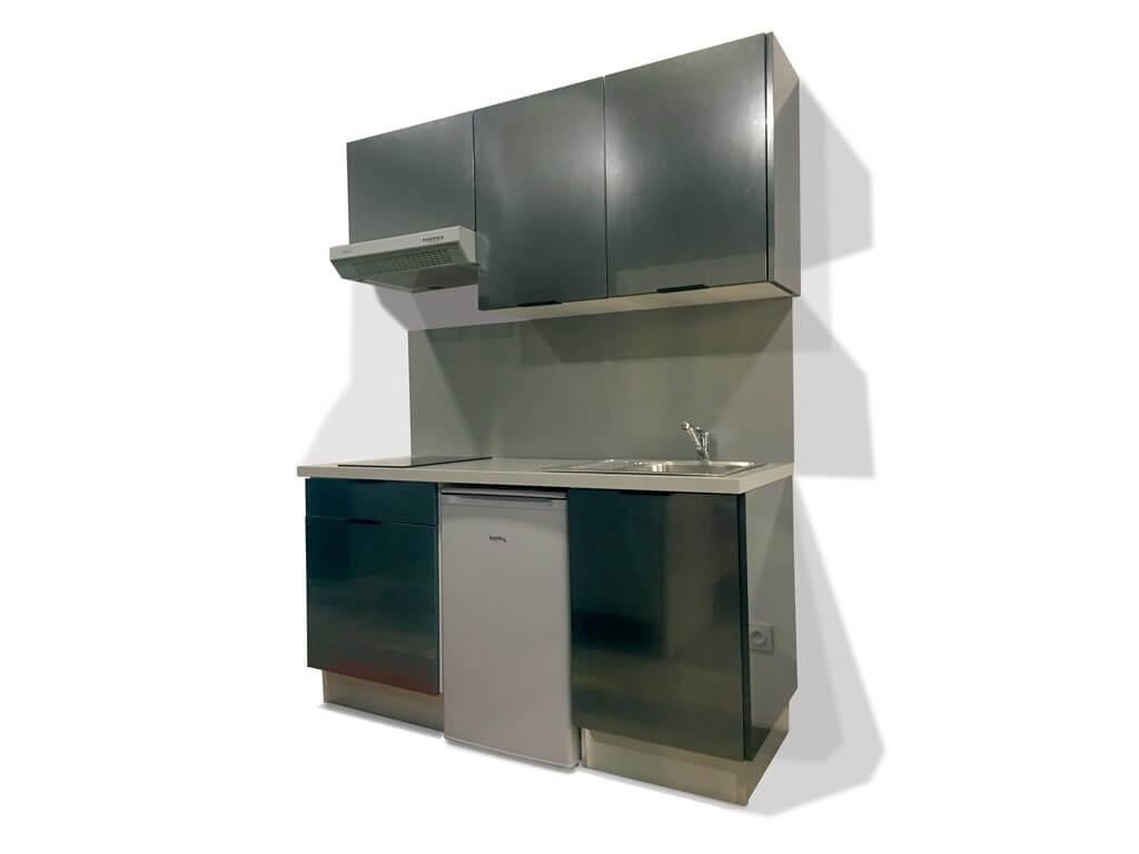 Hauteur Crédence Plan De Travail kitchenette tech 160cm